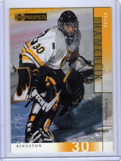 Hamerlík Peter (G) - Kingston (CHL) - UD Prospects 2000-2001 č.7