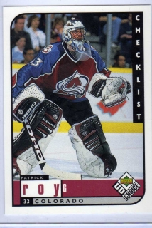 Roy Patrick (G) - Colorado - UD Choice 98-99 č.309